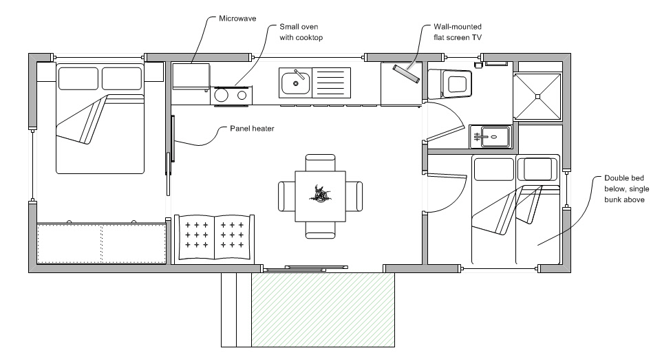 cabin floor plan with loft joy studio design gallery