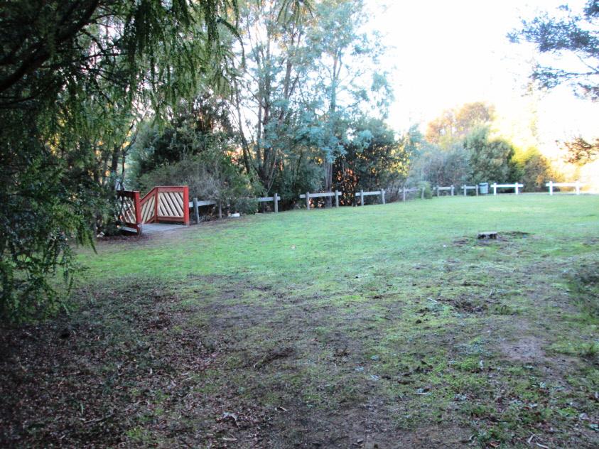 Tent sites in Legana, around 10km from Launceston